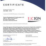 TECTON Abu Dhabi ISO 45001 2018 valid till 2022 04 01